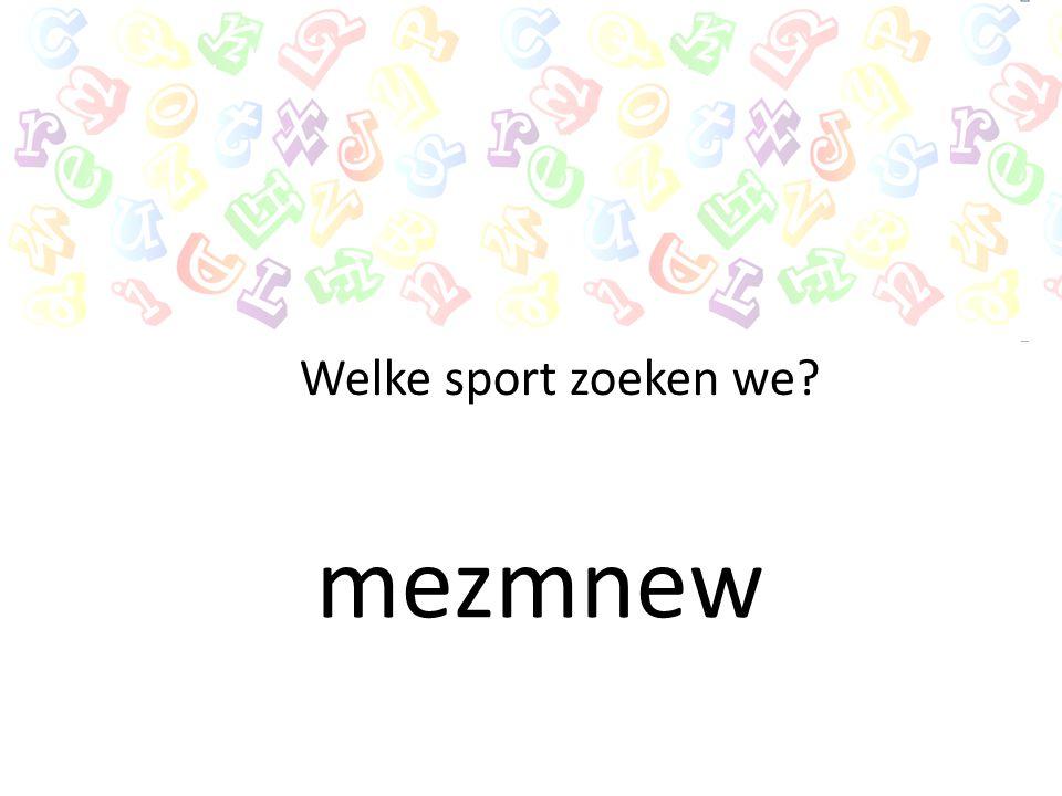 Welke sport zoeken we mezmnew