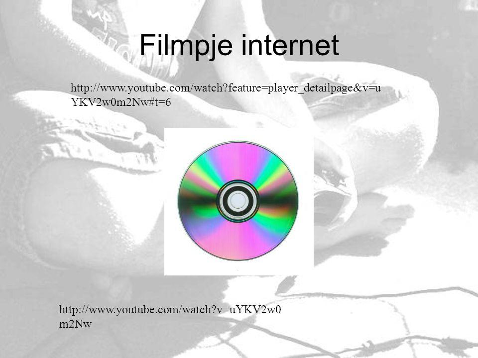Filmpje internet http://www.youtube.com/watch feature=player_detailpage&v=uYKV2w0m2Nw#t=6. Wat speelt hij