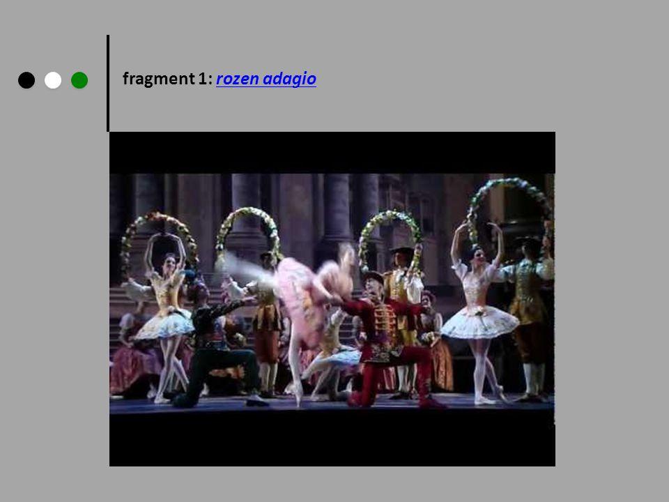 fragment 1: rozen adagio