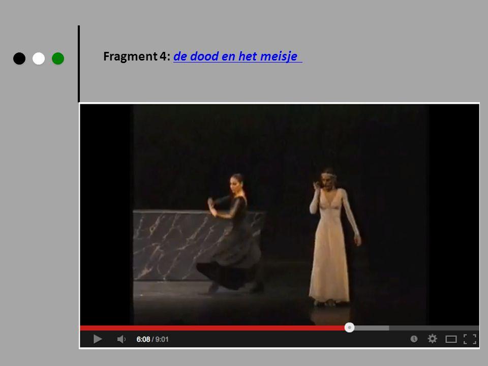 Fragment 4: de dood en het meisje