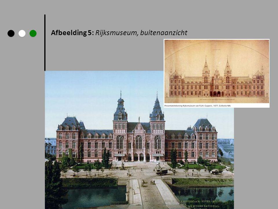 Afbeelding 5: Rijksmuseum, buitenaanzicht