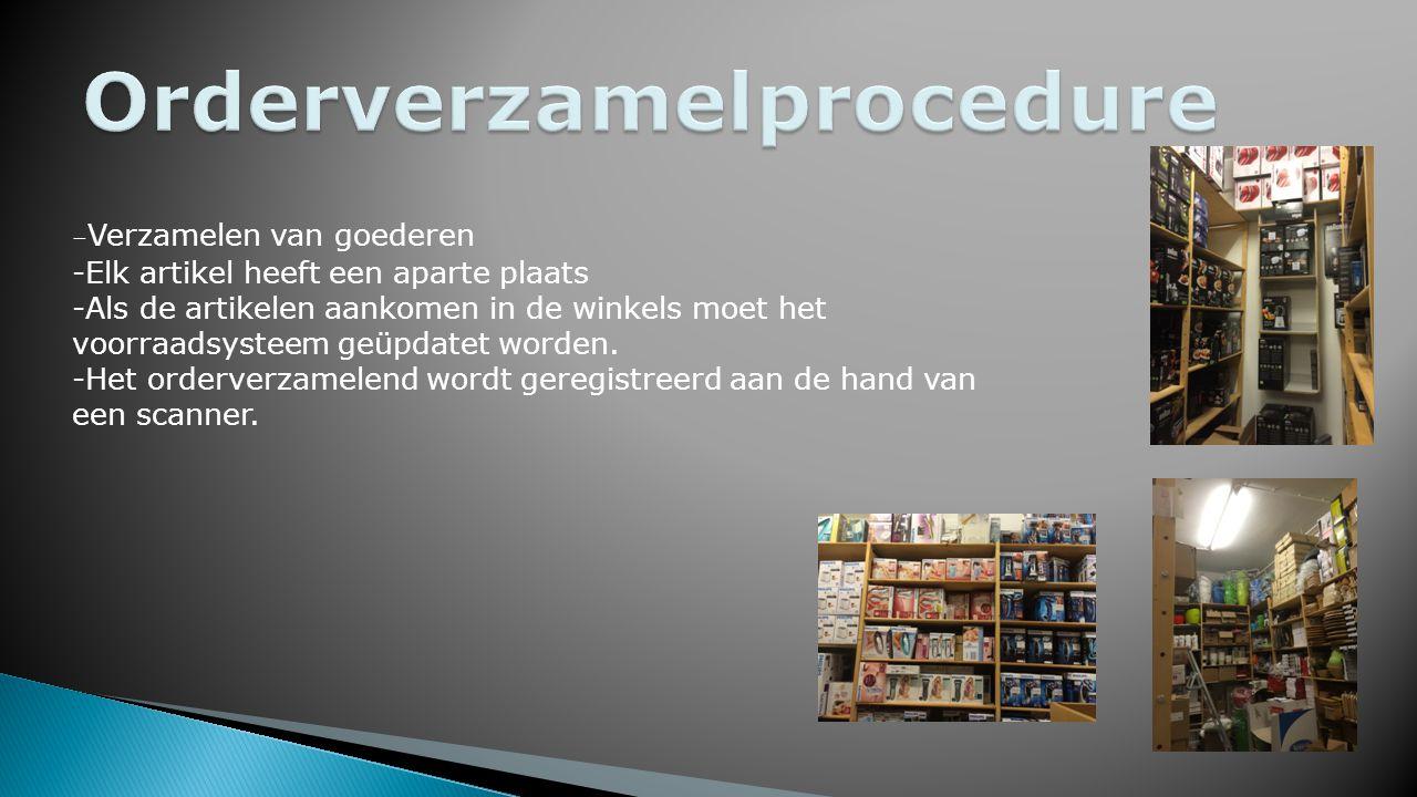 Orderverzamelprocedure