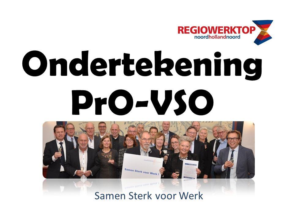 Ondertekening PrO-VSO