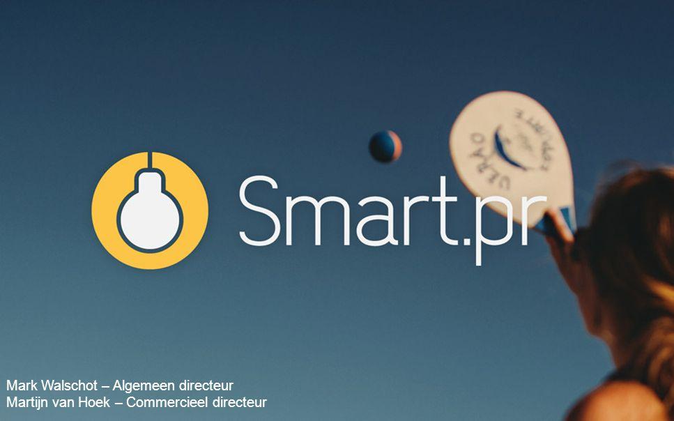 Smart.pr Mark Walschot – Algemeen directeur
