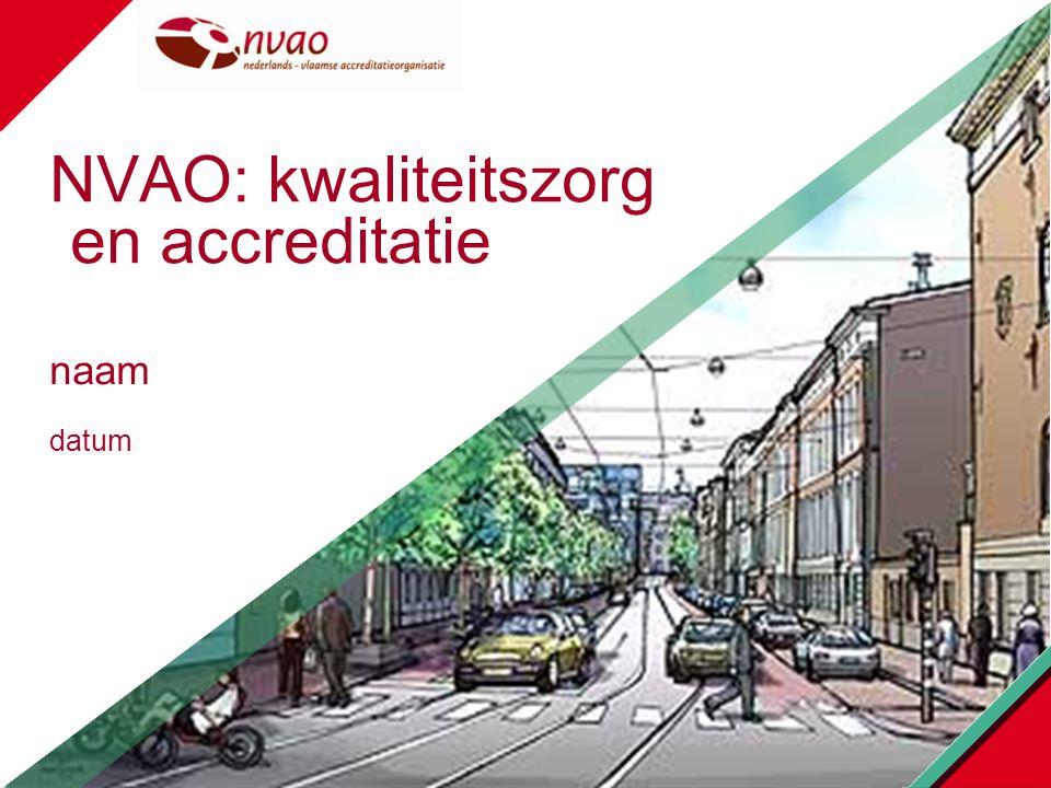 NVAO: kwaliteitszorg en accreditatie