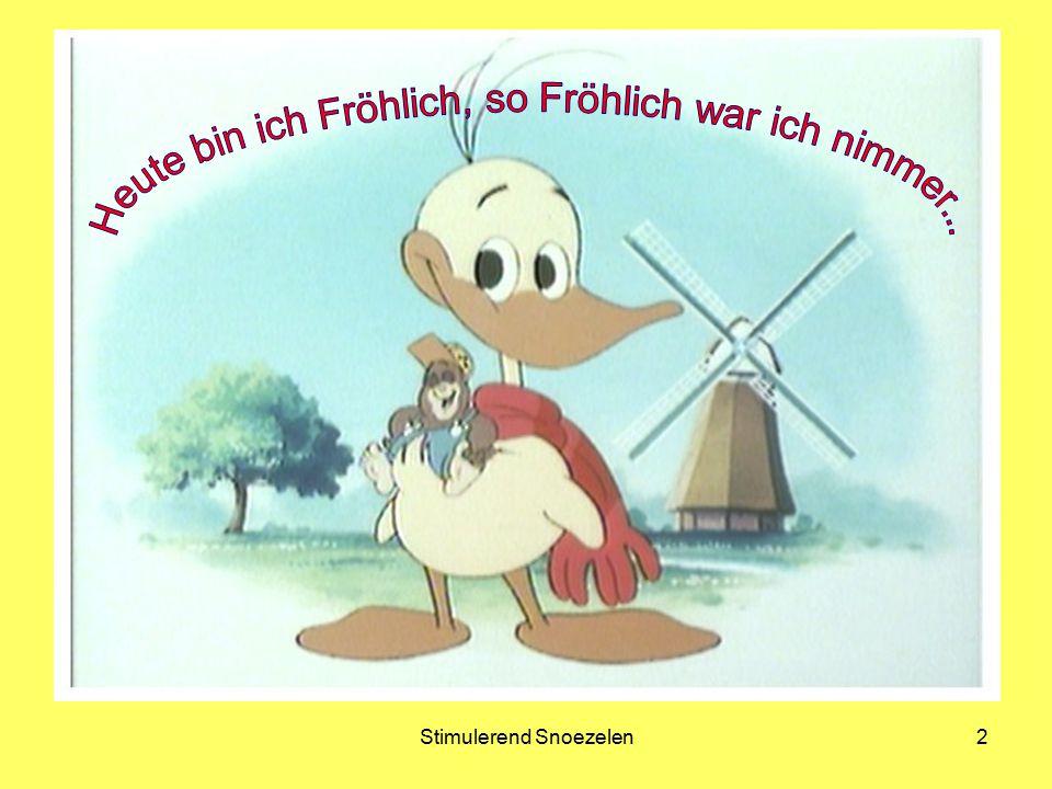 Heute bin ich Fröhlich, so Fröhlich war ich nimmer...