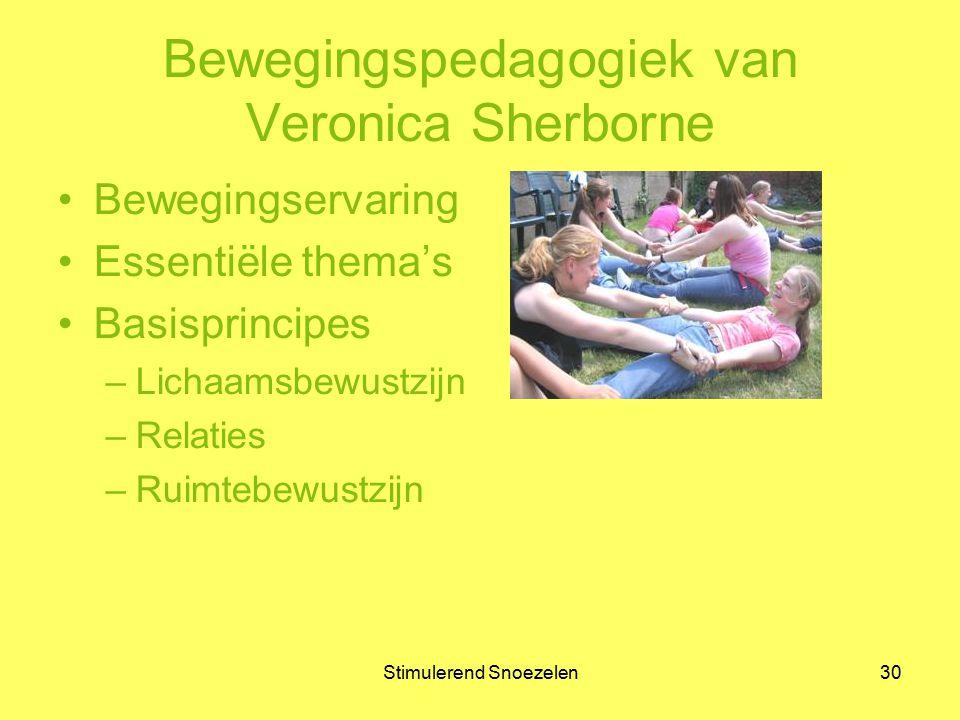 Bewegingspedagogiek van Veronica Sherborne