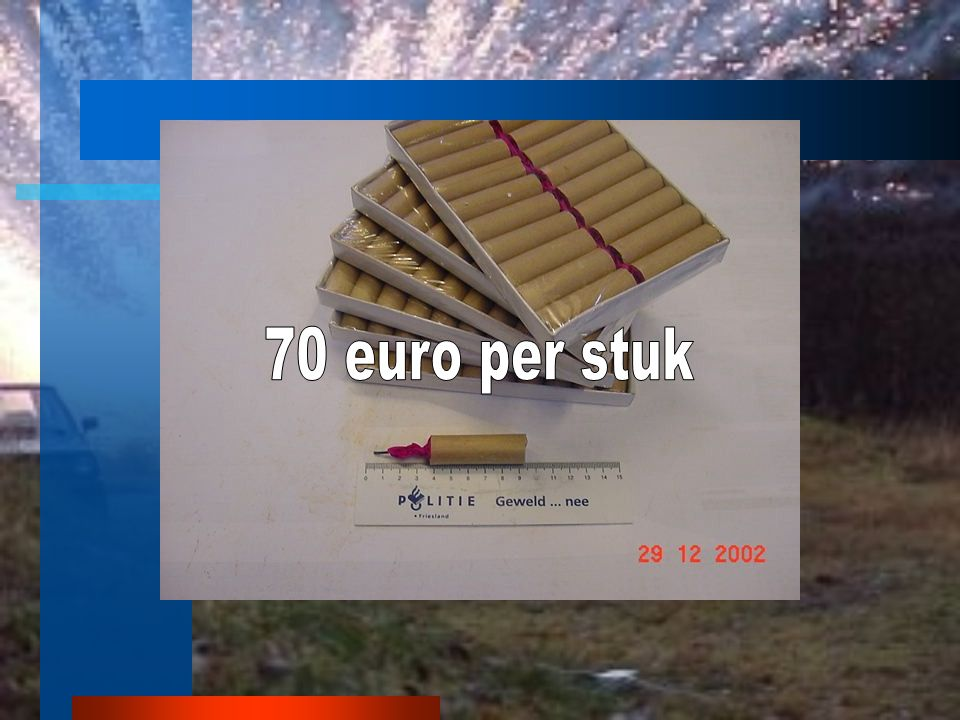 70 euro per stuk