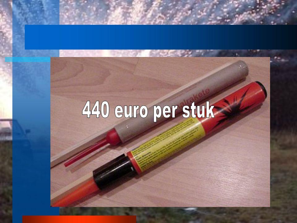 440 euro per stuk