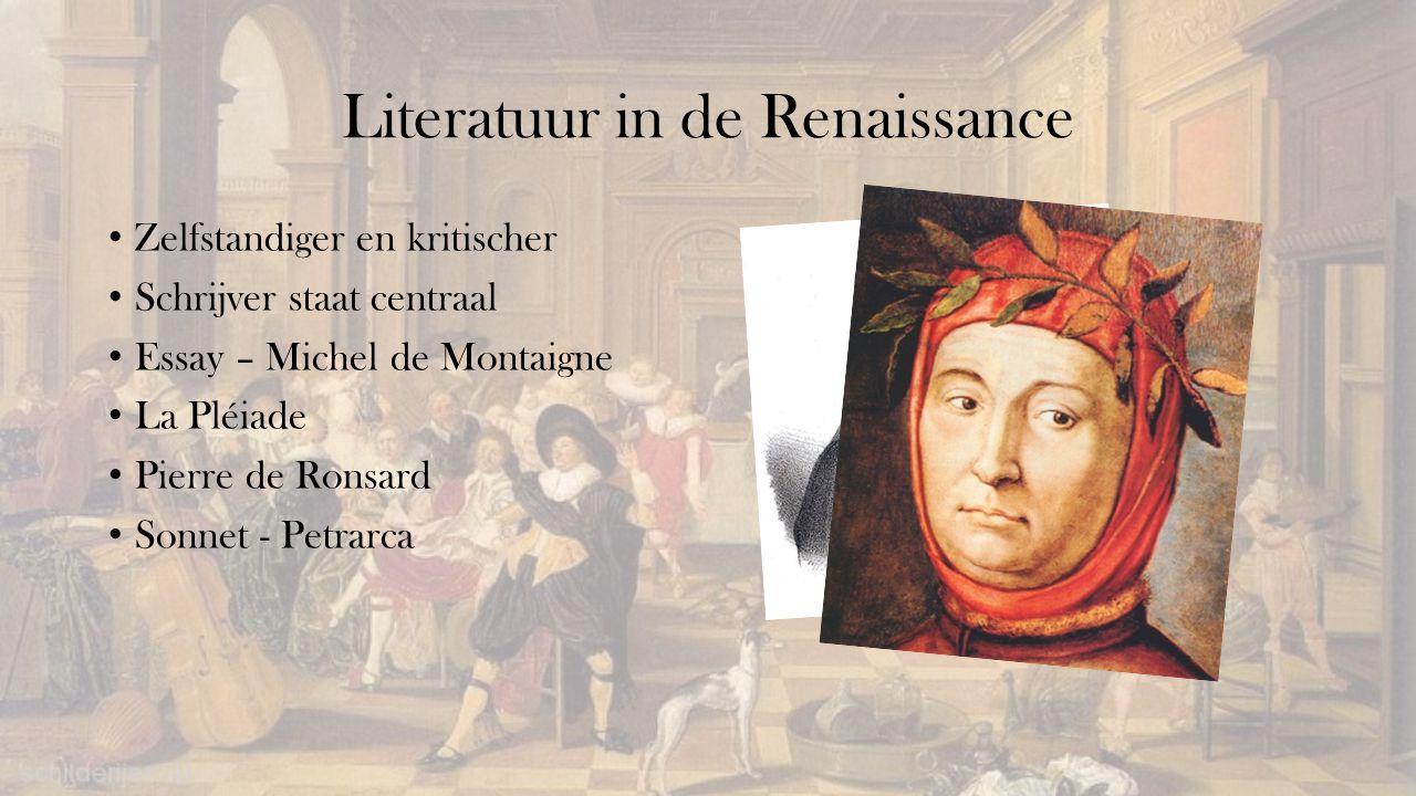 Literatuur in de Renaissance