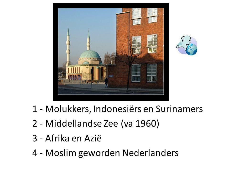 1 - Molukkers, Indonesiërs en Surinamers