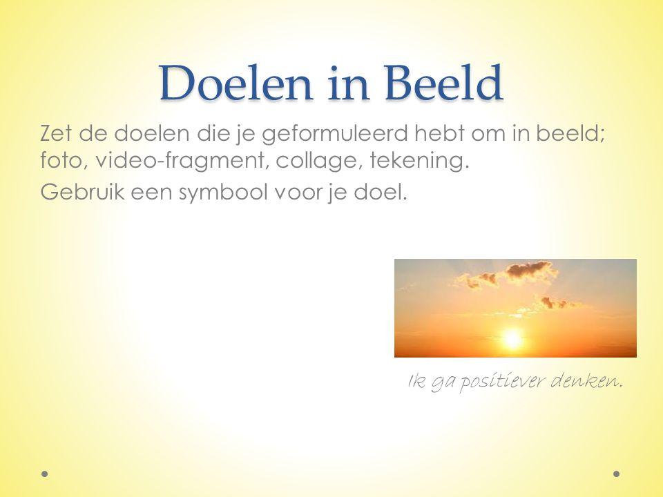 Doelen in Beeld