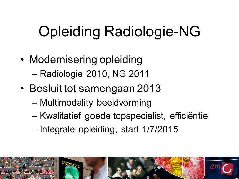 Opleiding Radiologie-NG