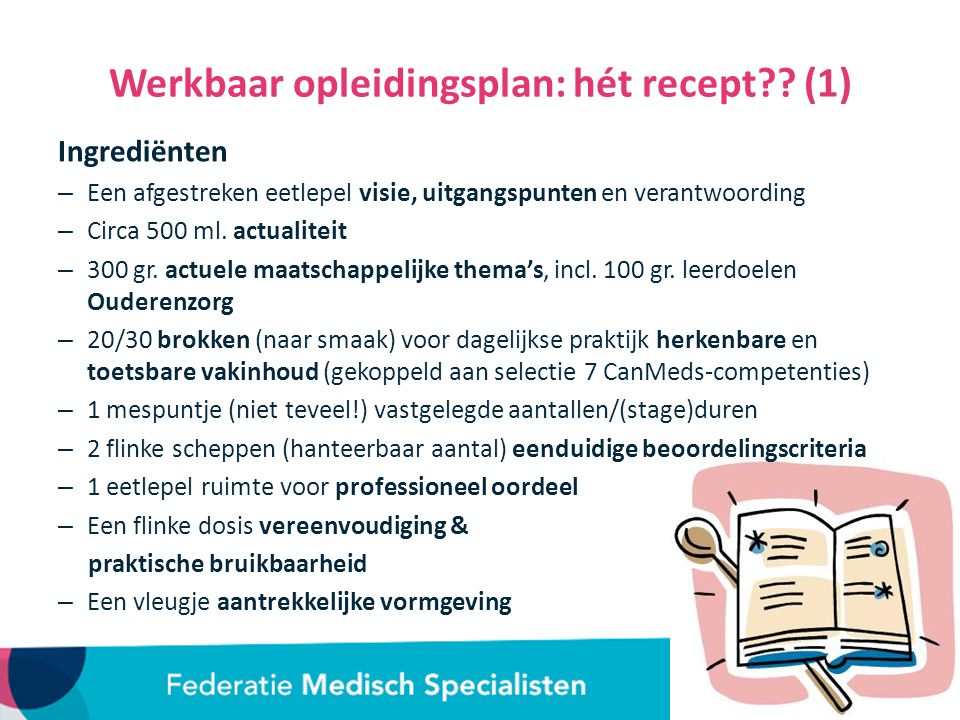 Werkbaar opleidingsplan: hét recept (1)