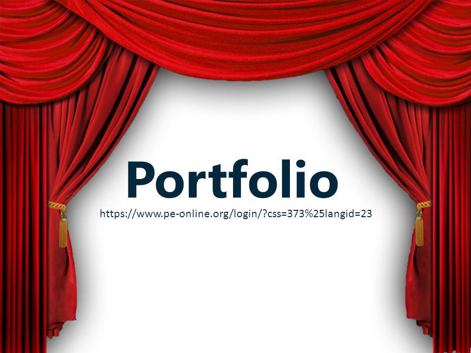 Portfolio https://www.pe-online.org/login/ css=373%25langid=23
