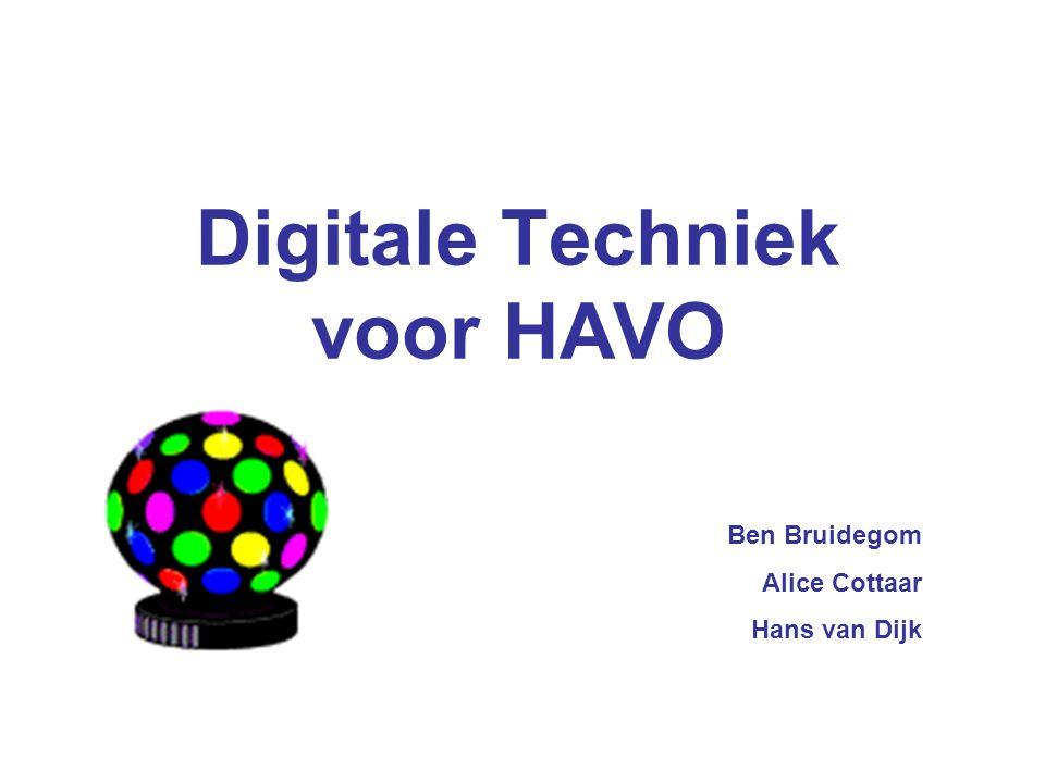 Digitale Techniek voor HAVO