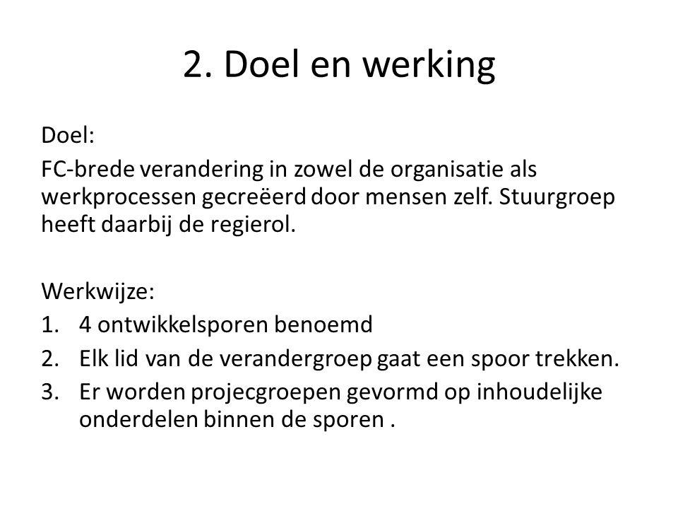2. Doel en werking Doel: