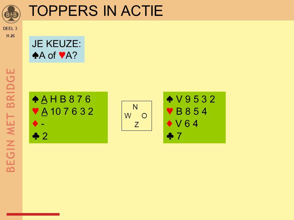 TOPPERS IN ACTIE (SPEL 1)