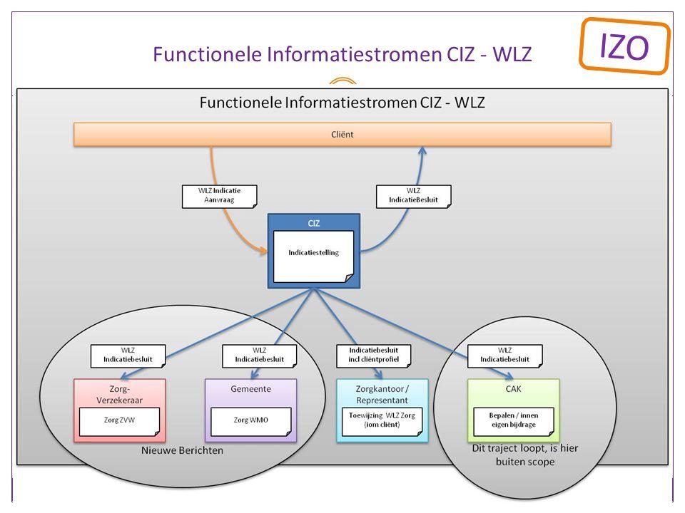 Functionele Informatiestromen CIZ - WLZ