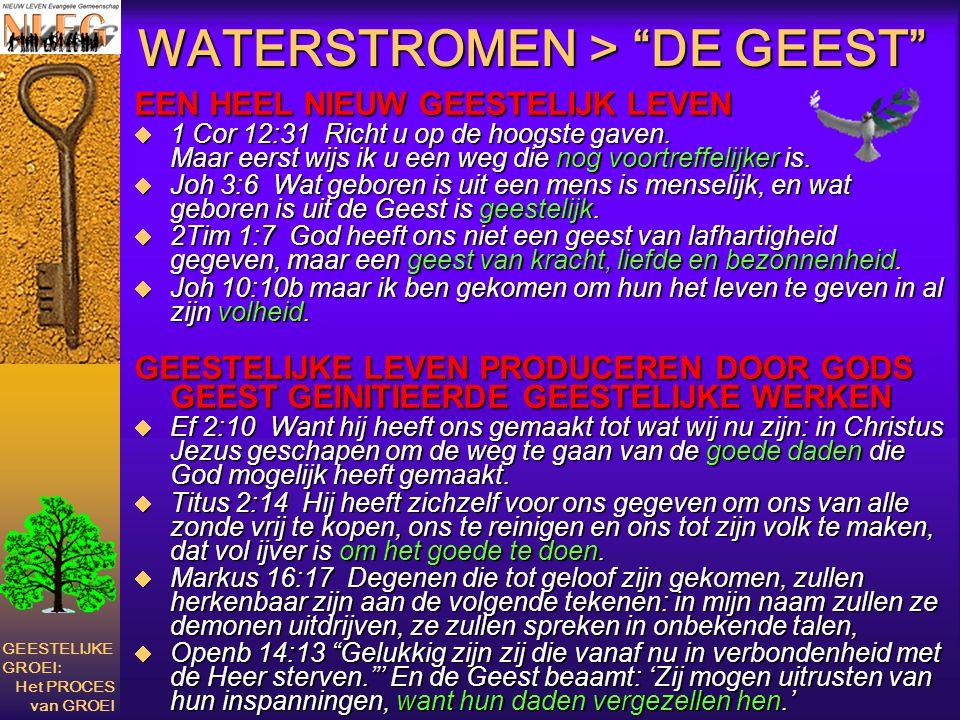 WATERSTROMEN > DE GEEST