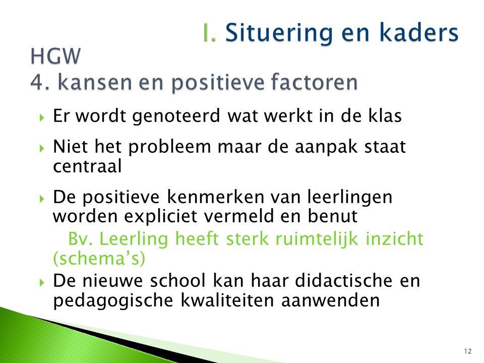 HGW 4. kansen en positieve factoren