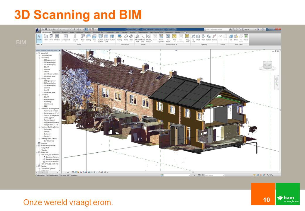 3D Scanning and BIM BIM. To make this project possible we worked with 3d scanning.