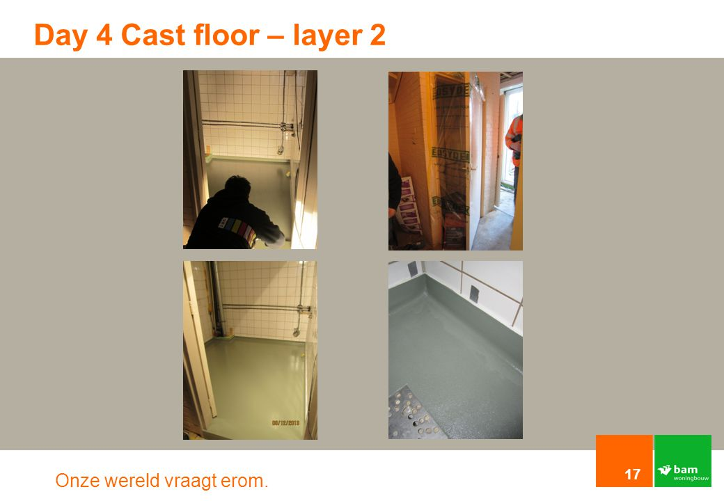 Day 4 Cast floor – layer 2