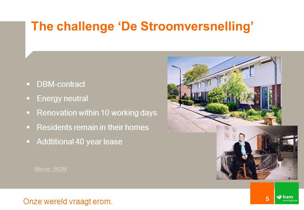 The challenge 'De Stroomversnelling'
