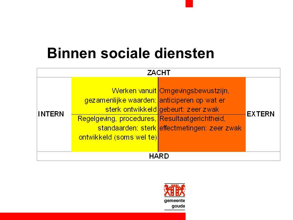 Binnen sociale diensten