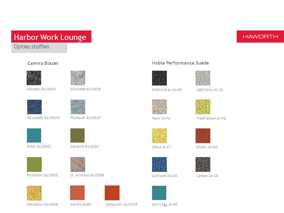 Harbor Work Lounge Opties stoffen Camira Blazer