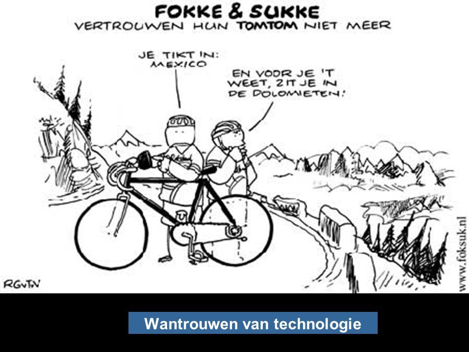 Wantrouwen van technologie