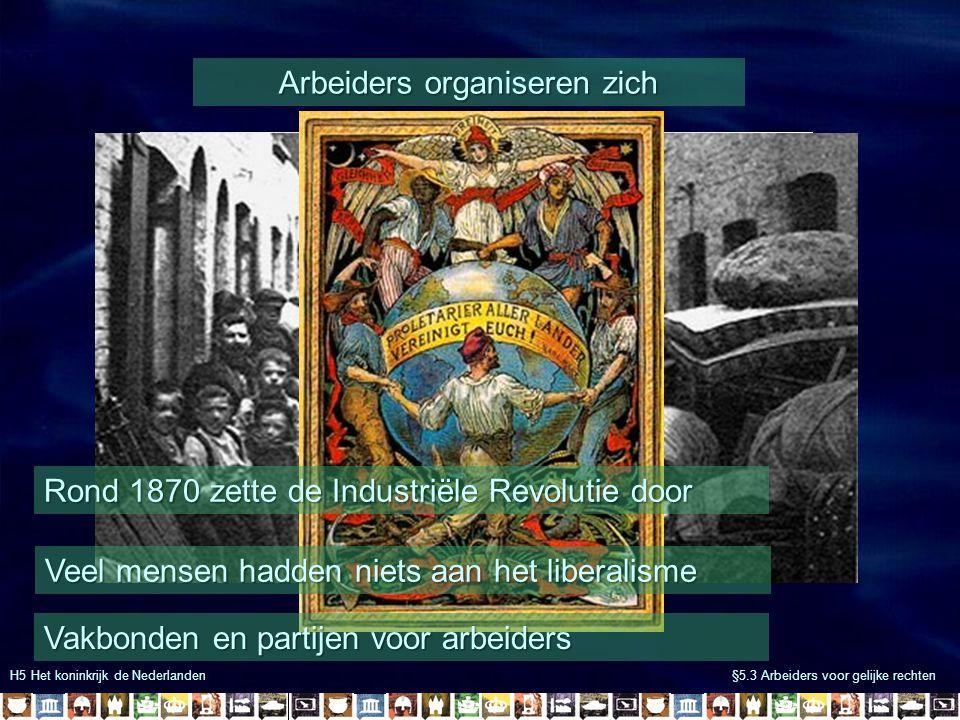Arbeiders organiseren zich
