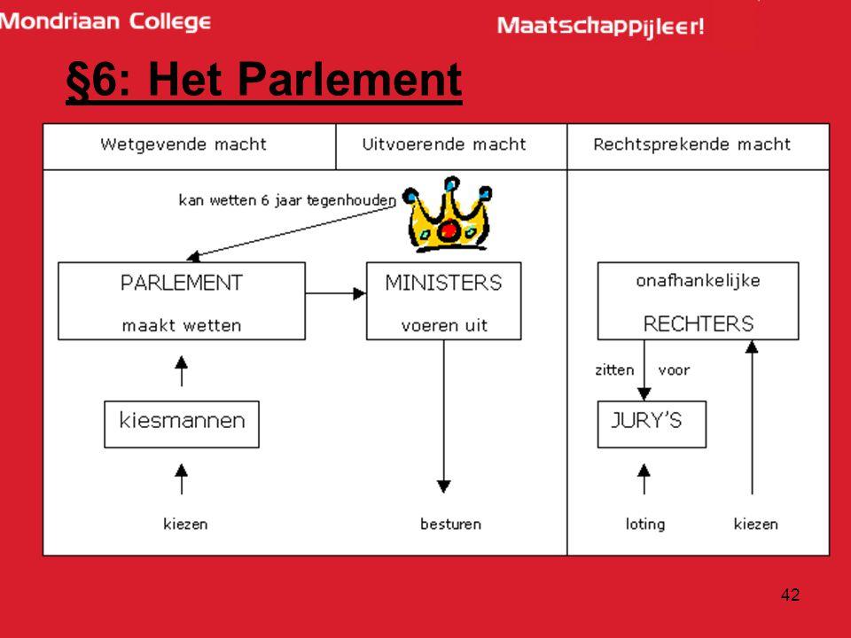 §6: Het Parlement