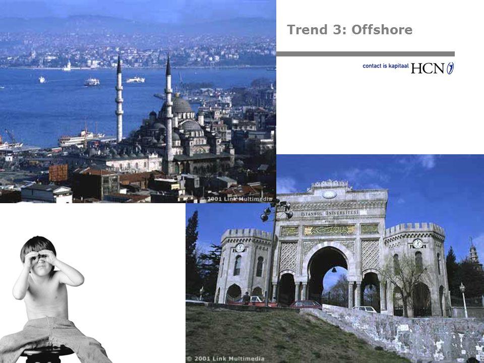 Trend 3: Offshore