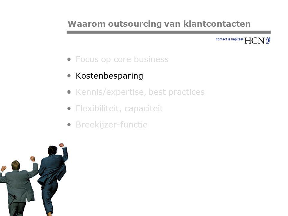 Waarom outsourcing van klantcontacten