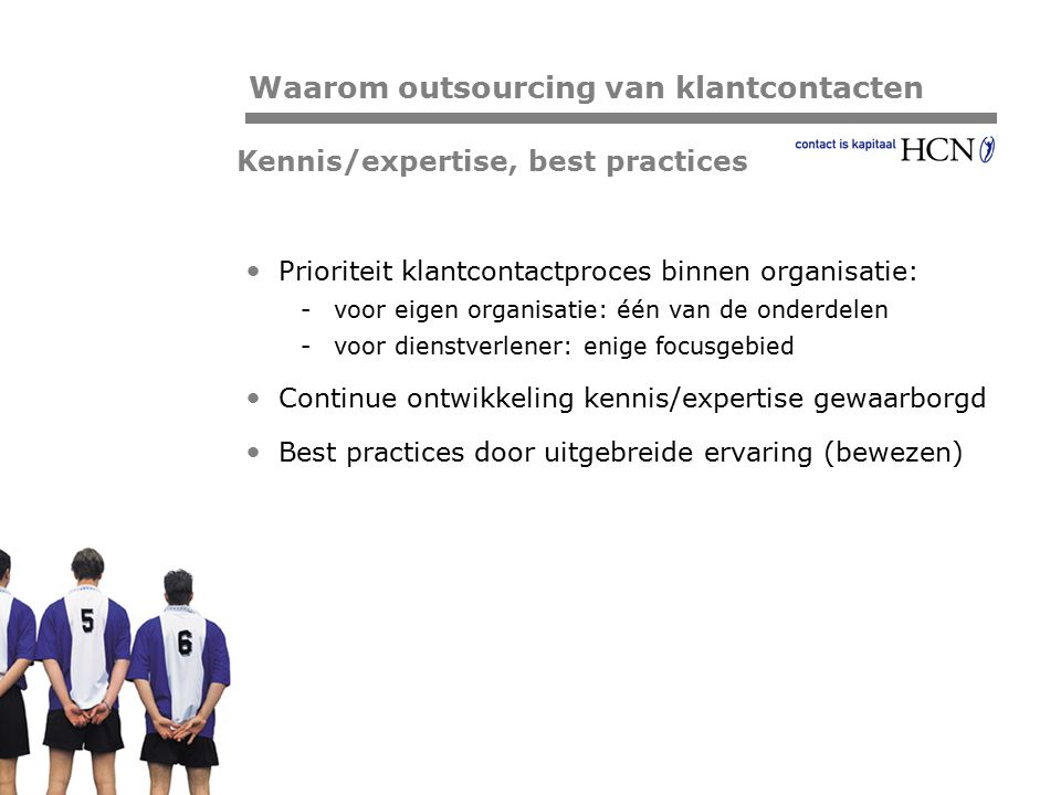 Kennis/expertise, best practices