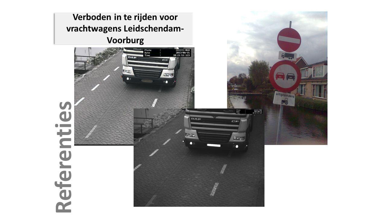 Verboden in te rijden voor vrachtwagens Leidschendam-Voorburg