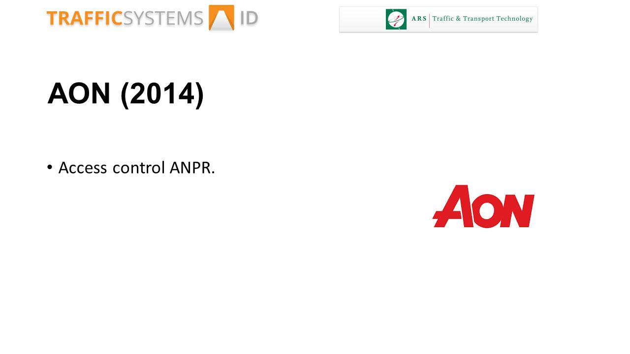 AON (2014) Access control ANPR.