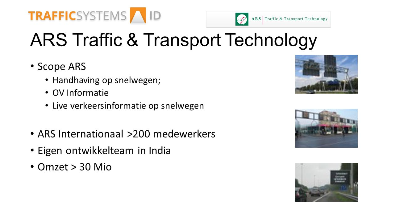 ARS Traffic & Transport Technology