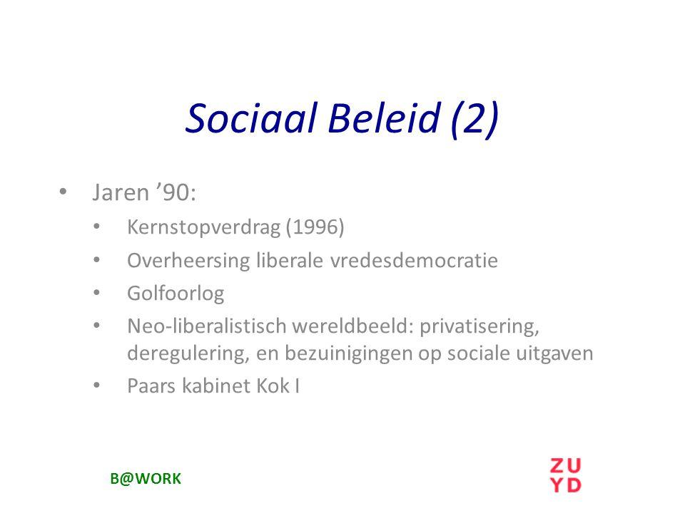 Sociaal Beleid (2) Jaren '90: Kernstopverdrag (1996)