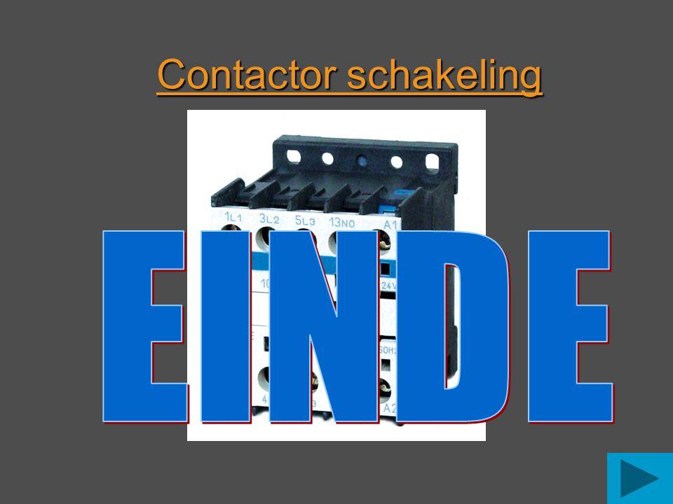 Contactor schakeling EINDE