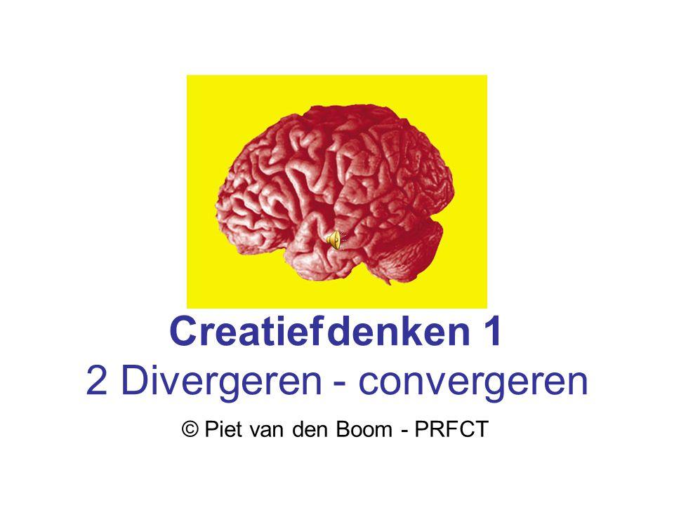 2 Divergeren - convergeren