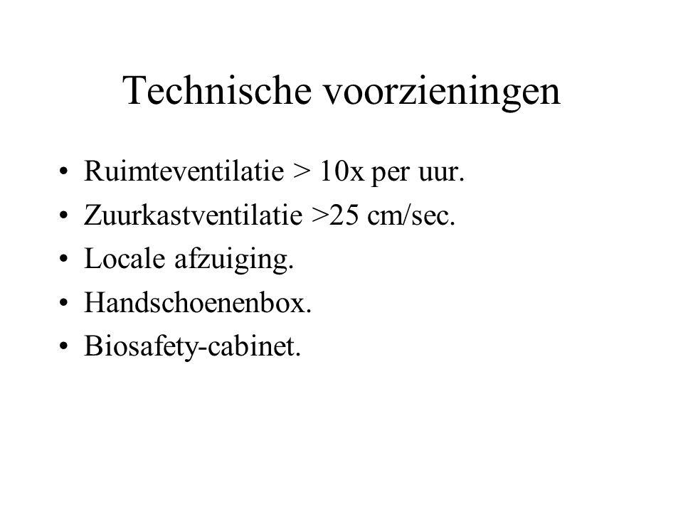 Technische voorzieningen
