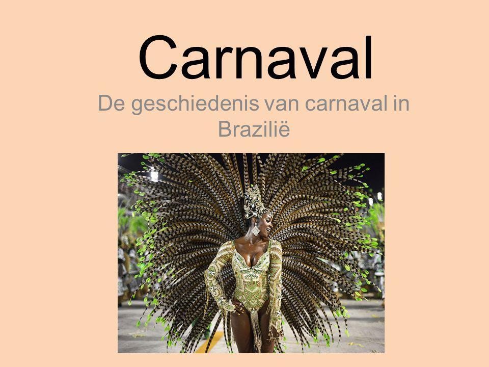 De geschiedenis van carnaval in Brazilië