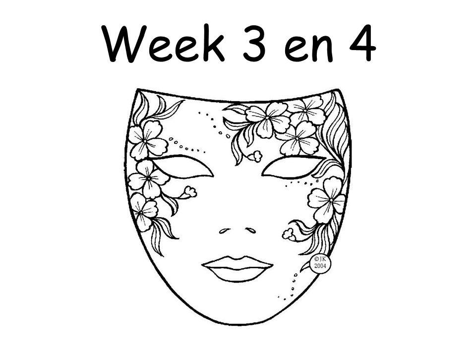 Week 3 en 4