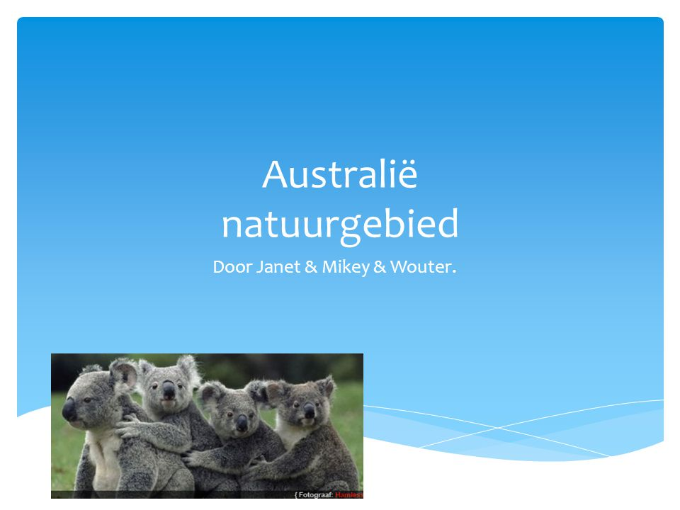 Australië natuurgebied