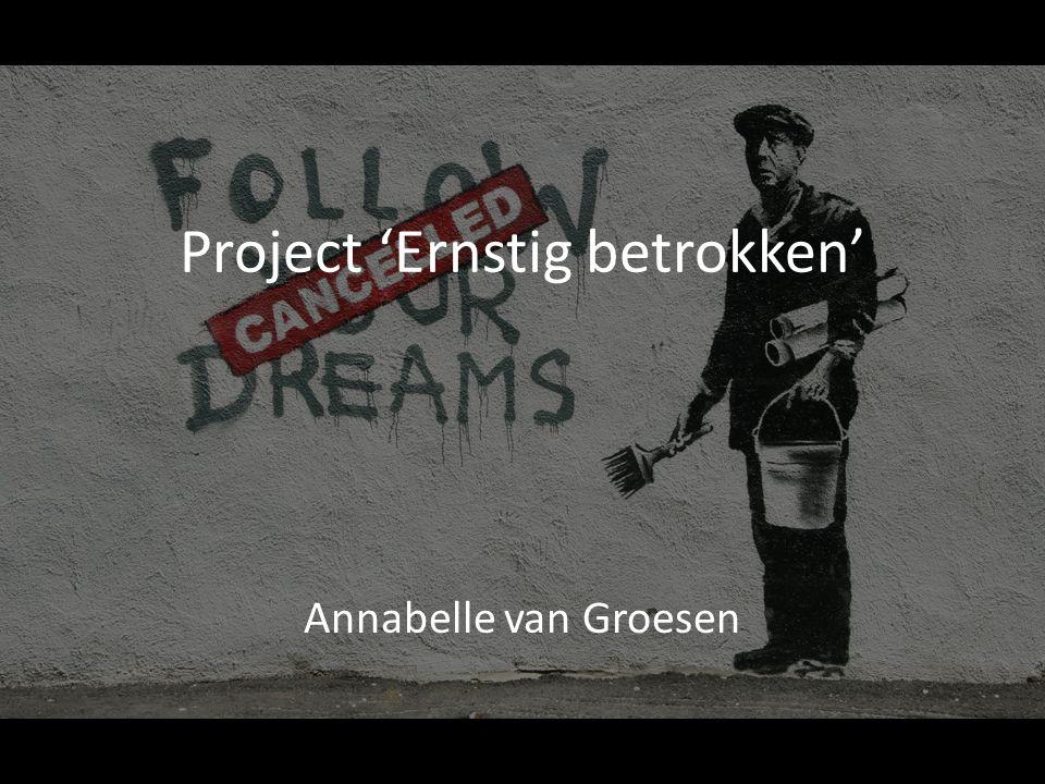 Project 'Ernstig betrokken'