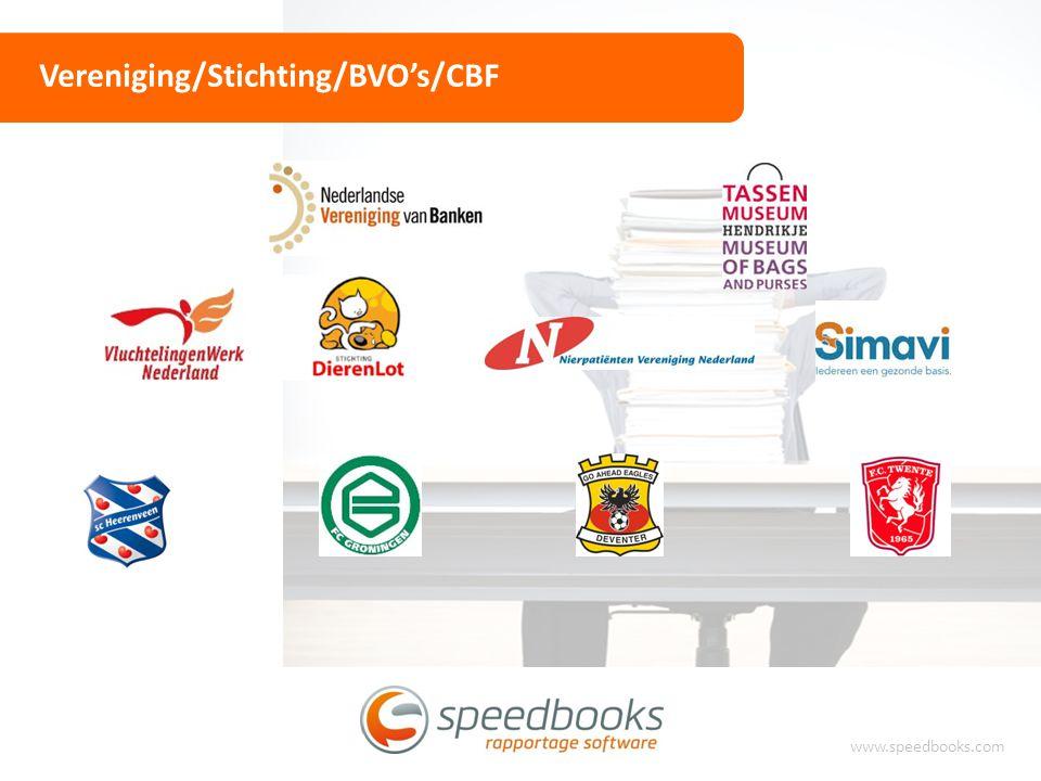Vereniging/Stichting/BVO's/CBF