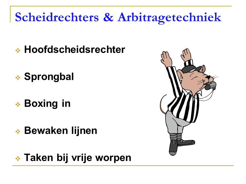 Scheidrechters & Arbitragetechniek