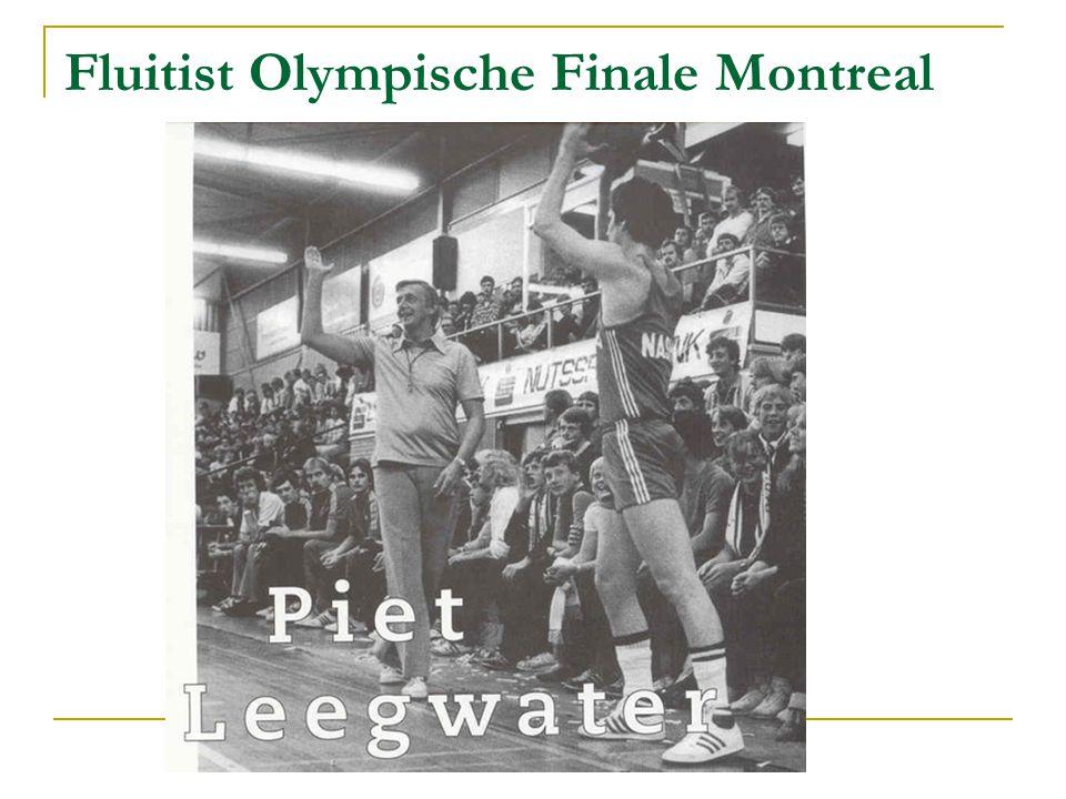 Fluitist Olympische Finale Montreal